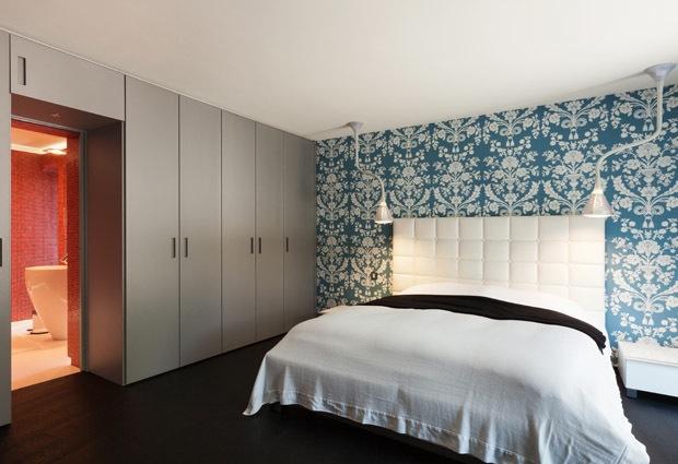 Gesloten dressing voorbeelden tips - Slaapkamer met badkamer en dressing ...