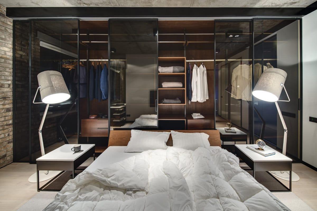 garderobekast luxe slaapkamer