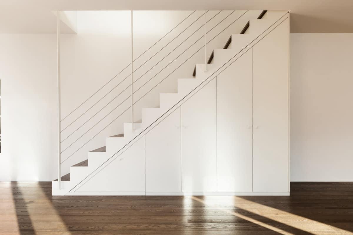 garderobekast onder trap